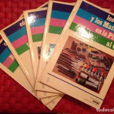Libros de segunda mano: ENCICLOPEDIA CEAC, DE LA PINTURA AL OLEO. Lote 68059793