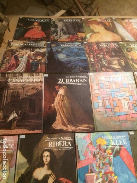 Libros de segunda mano: Antigua coleccion de 29 libro / libros los genios de la pintura Biblioteca Sarpe año 1979 - Foto 2 - 68345237