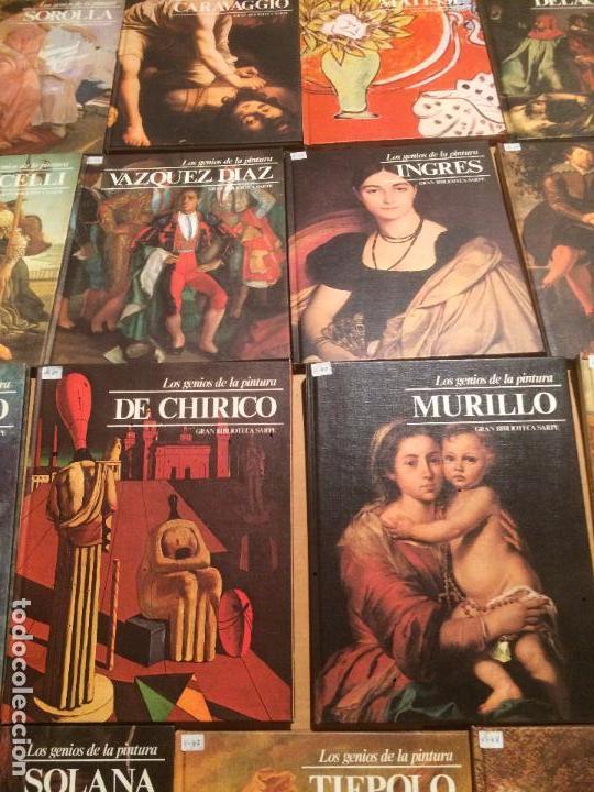 Libros de segunda mano: Antigua coleccion de 29 libro / libros los genios de la pintura Biblioteca Sarpe año 1979 - Foto 4 - 68345237