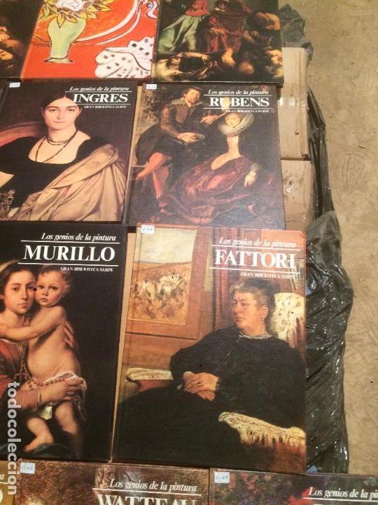 Libros de segunda mano: Antigua coleccion de 29 libro / libros los genios de la pintura Biblioteca Sarpe año 1979 - Foto 5 - 68345237