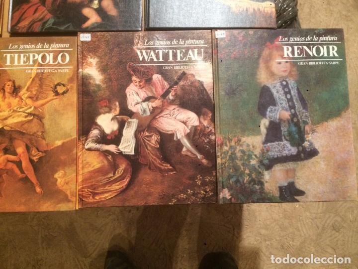 Libros de segunda mano: Antigua coleccion de 29 libro / libros los genios de la pintura Biblioteca Sarpe año 1979 - Foto 6 - 68345237