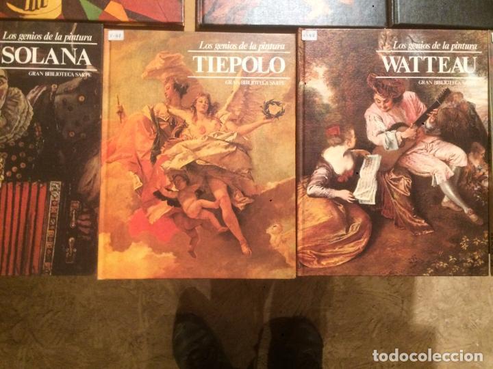Libros de segunda mano: Antigua coleccion de 29 libro / libros los genios de la pintura Biblioteca Sarpe año 1979 - Foto 7 - 68345237