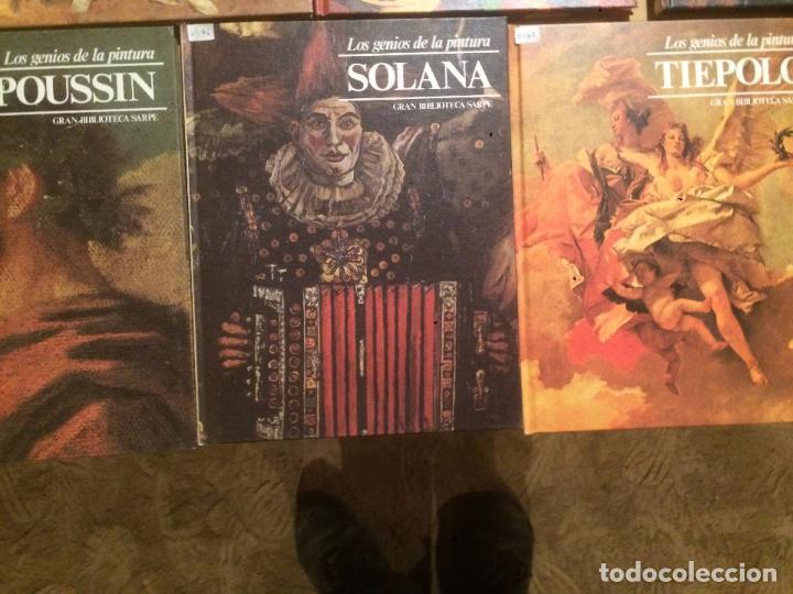 Libros de segunda mano: Antigua coleccion de 29 libro / libros los genios de la pintura Biblioteca Sarpe año 1979 - Foto 8 - 68345237