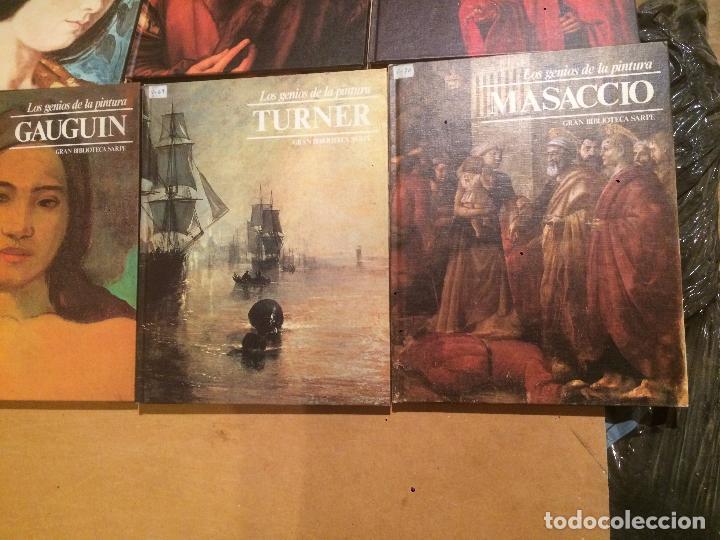 Libros de segunda mano: Antigua coleccion de 29 libro / libros los genios de la pintura Biblioteca Sarpe año 1979 - Foto 20 - 68345237