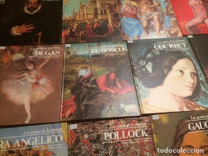Libros de segunda mano: Antigua coleccion de 29 libro / libros los genios de la pintura Biblioteca Sarpe año 1979 - Foto 23 - 68345237