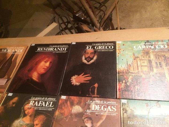 Libros de segunda mano: Antigua coleccion de 29 libro / libros los genios de la pintura Biblioteca Sarpe año 1979 - Foto 26 - 68345237