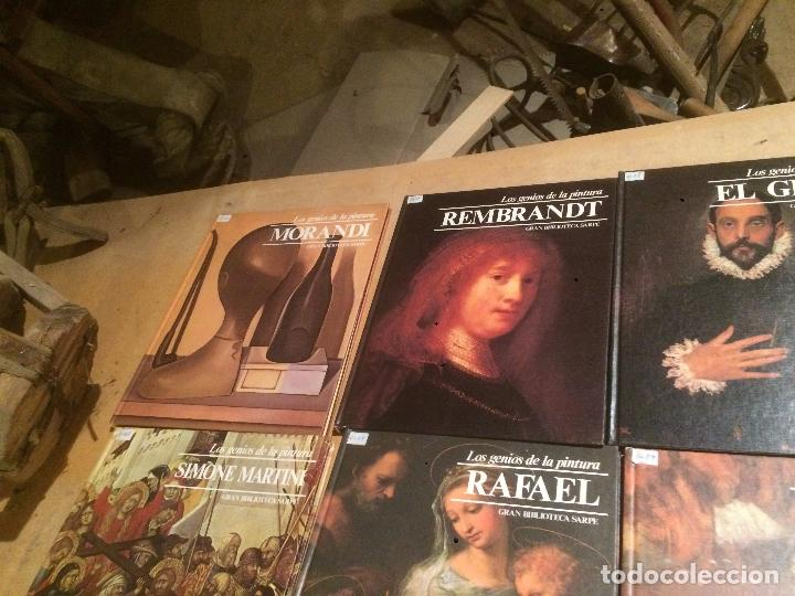 Libros de segunda mano: Antigua coleccion de 29 libro / libros los genios de la pintura Biblioteca Sarpe año 1979 - Foto 27 - 68345237