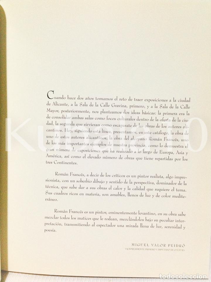 Libros de segunda mano: ROMAN FRANCES · OBRAS · PINTURAS · ALICANTE - Foto 4 - 68591565