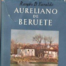 Libros de segunda mano: FARALDO. AURELIANO DE BERUETE (OMEGA, S.F.). Lote 68670021