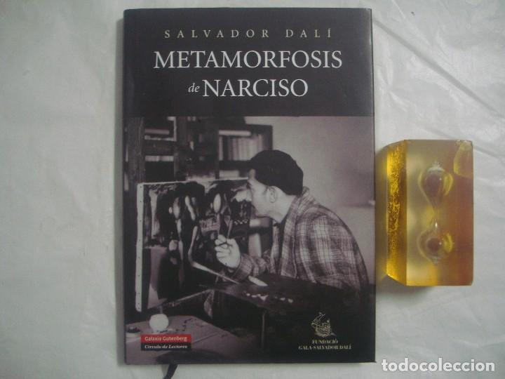 SALVADOR DALÍ. METAMORFOSIS DE NARCISO. GALAXIA GUTENBERG. 2008. FOLIO. ILUSTRADO (Libros de Segunda Mano - Bellas artes, ocio y coleccionismo - Pintura)