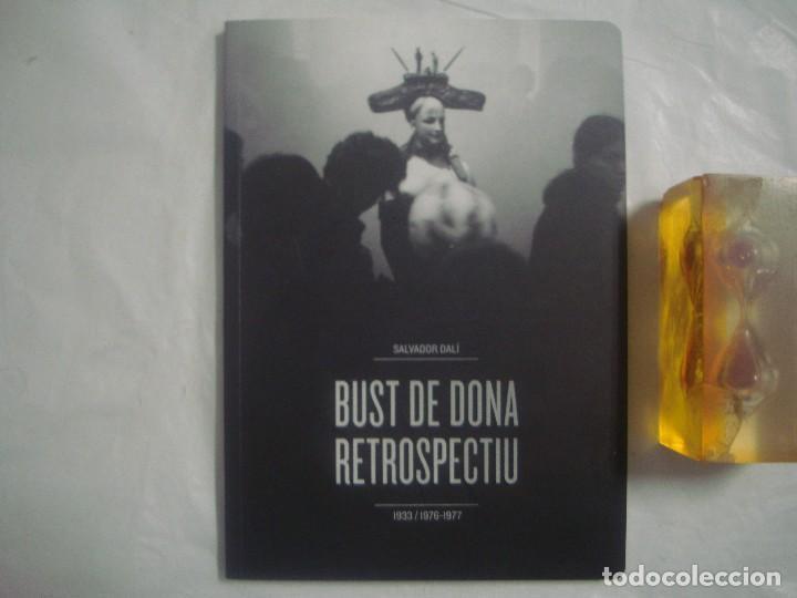 LIBREIRA GHOTICA. SALVADOR DALÍ. BUST DE DONA RETROSPECTIU.1933/1976-1977. FOLIO MENOR.MUY ILUSTRADO (Libros de Segunda Mano - Bellas artes, ocio y coleccionismo - Pintura)