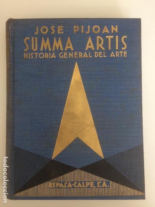 SUMMA ARTIS, JOSÉ PIJOAN (Libros de Segunda Mano - Bellas artes, ocio y coleccionismo - Pintura)