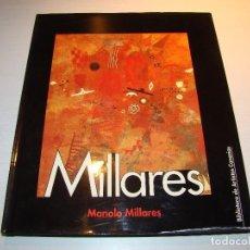 Libros de segunda mano: MANOLO MILLARES - BIBLIOTECA DE ARTISTAS CANARIOS (DESCATALOGADO) NÚMERO 10. Lote 110264274