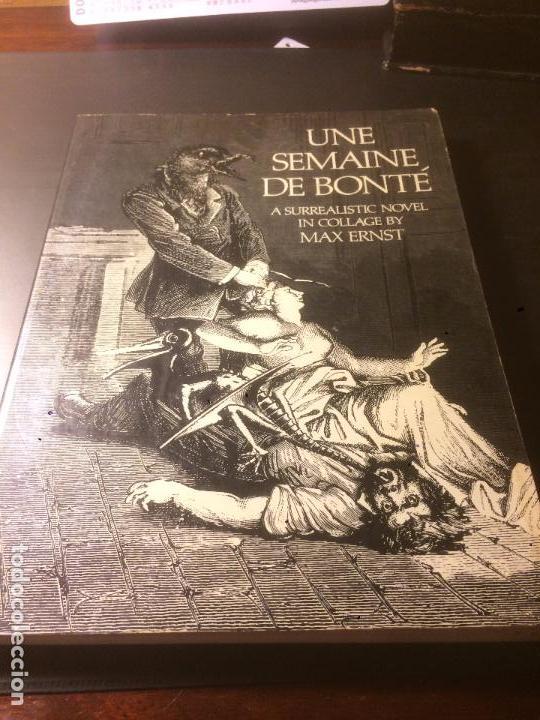 ANTIGUO LIBRO DE ARTE UNE SEMAINE DE BONTÉ ESCRITO POR MAX ERNST AÑO 1976 (Libros de Segunda Mano - Bellas artes, ocio y coleccionismo - Pintura)