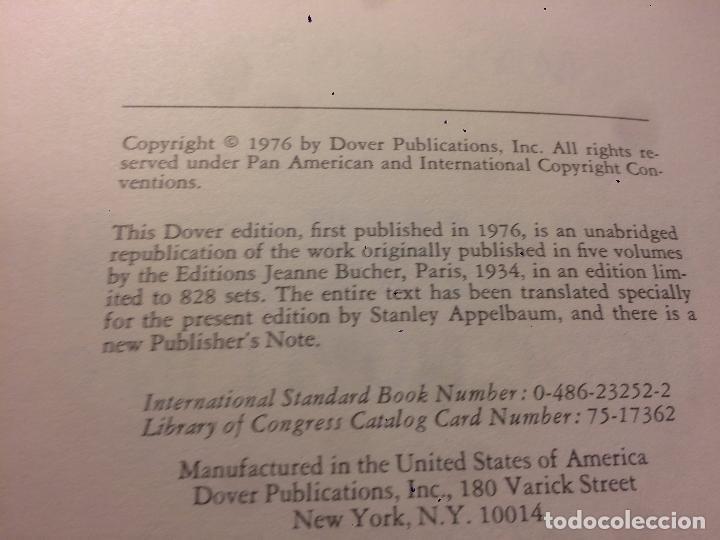 Libros de segunda mano: Antiguo libro de arte une semaine de bonté escrito por Max Ernst año 1976 - Foto 2 - 69722953