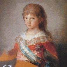 Libros de segunda mano: GOYA 250 ANIVERSARIO MUSEO DEL PRADO. Lote 69834017