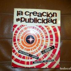 Libros de segunda mano: LA CREACIÓN EN PUBLICIDAD. S. DAVIS, 1966. EDICIONES LEDA. Lote 70283225