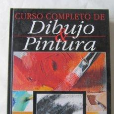 Libros de segunda mano: CURSO COMPLETO DE DIBUJO Y PINTURA. ED. PARRAMÓN. 2002. Lote 70300629