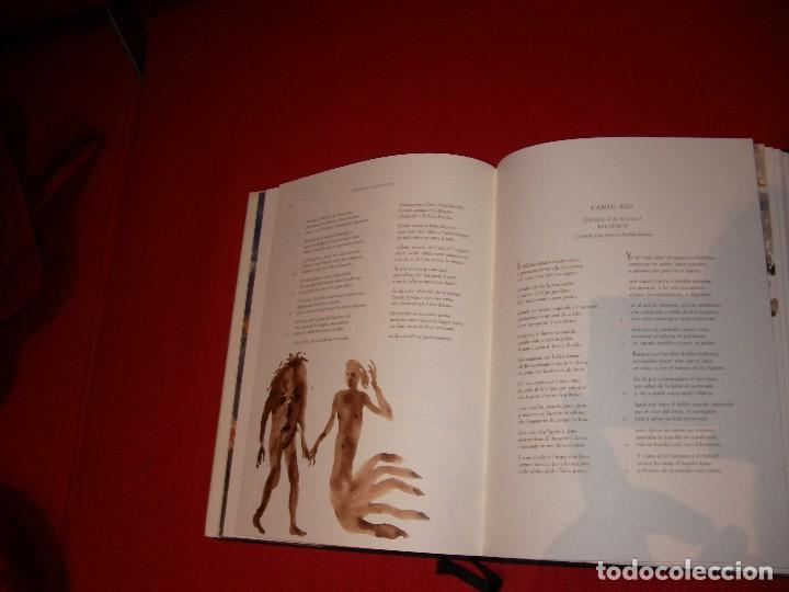 Libros de segunda mano: La Divina Comedia Autor: Dante Alighieri. Ilustraciones de Miquel Barceló. - Foto 7 - 71719447