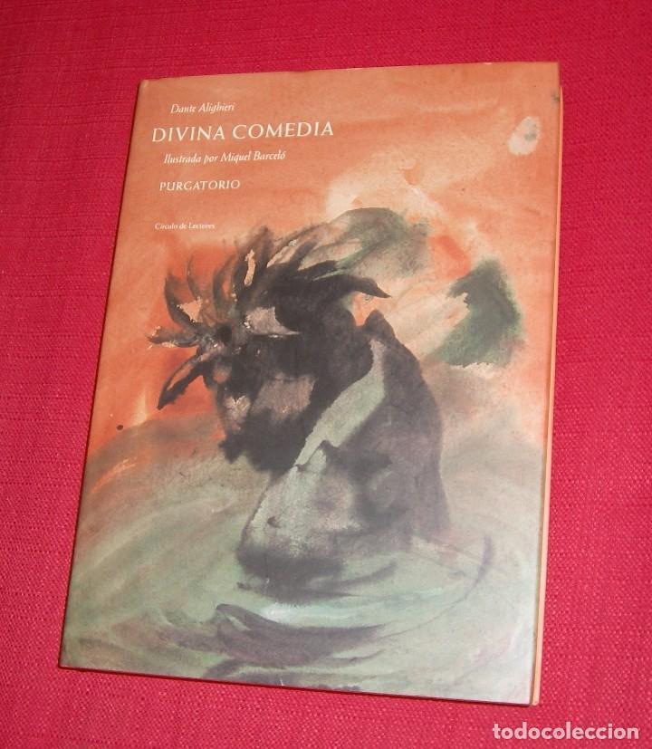 Libros de segunda mano: La Divina Comedia Autor: Dante Alighieri. Ilustraciones de Miquel Barceló. - Foto 8 - 71719447