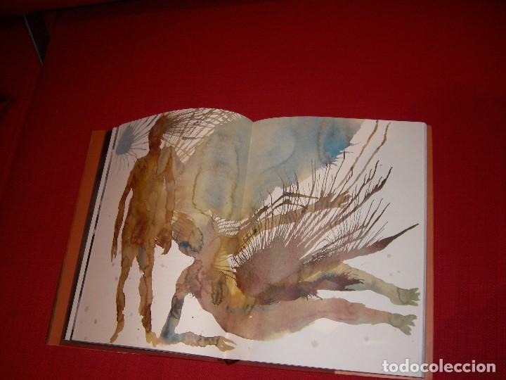 Libros de segunda mano: La Divina Comedia Autor: Dante Alighieri. Ilustraciones de Miquel Barceló. - Foto 10 - 71719447