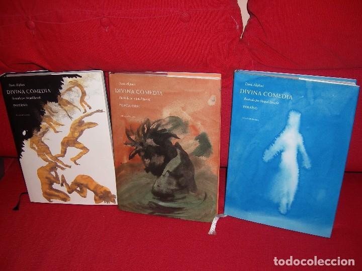 LA DIVINA COMEDIA AUTOR: DANTE ALIGHIERI. ILUSTRACIONES DE MIQUEL BARCELÓ. (Libros de Segunda Mano - Bellas artes, ocio y coleccionismo - Pintura)