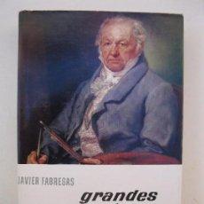 Libros de segunda mano: GRANDES PINTORES - JAVIER FABREGAS - ENCICLOPEDIA EL MUNDO Y EL HOMBRE - BRUGUERA - AÑO 1965.. Lote 72016327