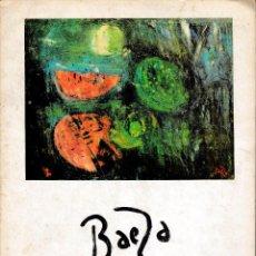 Libros de segunda mano: MANUEL BAEZA (CSIC INSTº ESTUDIOS ALICANTINOS 1971) SIN USAR.. Lote 143214433