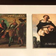 Libros de segunda mano: ZURBARÁN. 2 CATALOGOS DE EXPOSICIONES. Lote 72353267