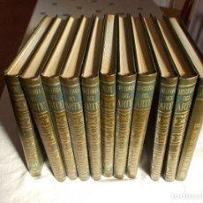 Libros de segunda mano: HISTORIA DEL ARTE SALVAT COMPLETA 11 TOMOS. Lote 72453207