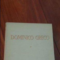 Libros de segunda mano: DOMINICO GRECO. TOMO I. JOSÉ CAMÓN AZNAR. 1950. . Lote 72706427