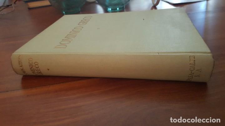 Libros de segunda mano: DOMINICO GRECO. TOMO I. JOSÉ CAMÓN AZNAR. 1950. - Foto 2 - 72706427