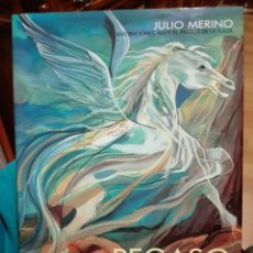 Libros de segunda mano: EMPRESA PEGASO. EL CABALLO VOLADOR. JULIO MERINO. MANUEL PRADOS DE LA PLAZA. MITOLOGÍA. AUTOMÓVIL.. Lote 74717222