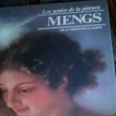 Libros de segunda mano: MENGS. COLECCIÓN LOS GENIOS DE LA PINTURA. GRAN BIBLIOTECA SARPE. Lote 75594159