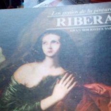 Libros de segunda mano: RIBERA. COLECCIÓN LOS GENIOS DE LA PINTURA. GRAN BIBLIOTECA SARPE. Lote 75693363