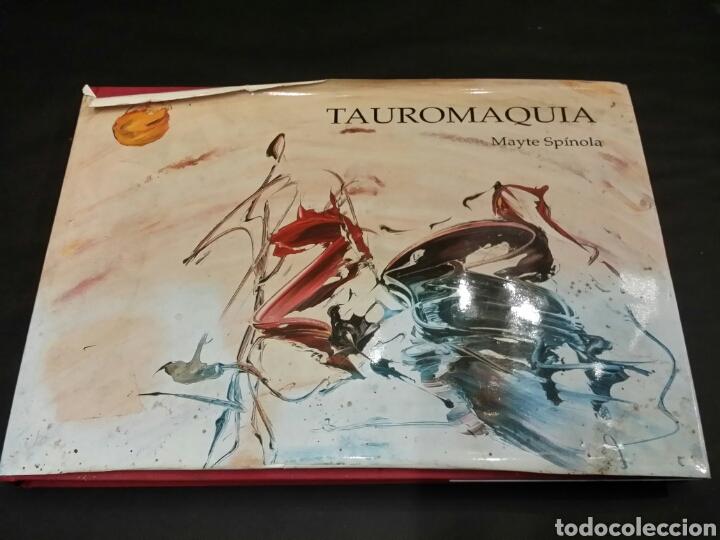 TAUROMAQUIA MAYTE SPINOLA MADRID 1994 (Libros de Segunda Mano - Bellas artes, ocio y coleccionismo - Pintura)