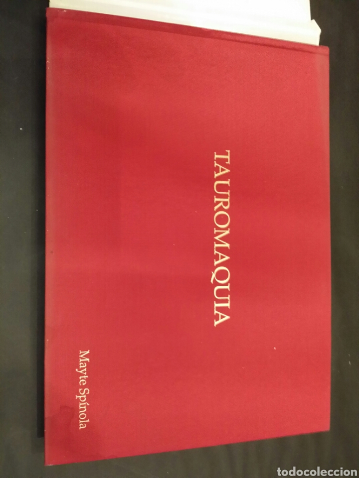 Libros de segunda mano: TAUROMAQUIA MAYTE SPINOLA MADRID 1994 - Foto 4 - 77207882