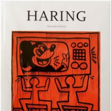 Libros de segunda mano: ALEXANDRA KOLOSSA - HARING (KEITH HARING) - TASCHEN 25 TH ANNIVERSARY! 2013. Lote 77305637