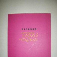 Libros de segunda mano: TOROS Y TOREROS PICASSO PARIS, BAYONA, BARCELONA. Lote 77431893