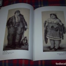Libros de segunda mano: FERNANDO BOTERO. DRAWINGS AND WATERCOLORS ON CANVAS. MARLBOROUGH. 1998. VER FOTOS.. Lote 77465337