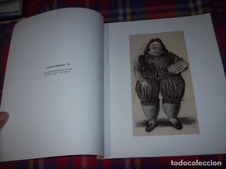 Libros de segunda mano: FERNANDO BOTERO. DRAWINGS AND WATERCOLORS ON CANVAS. MARLBOROUGH. 1998. VER FOTOS. - Foto 4 - 77465337