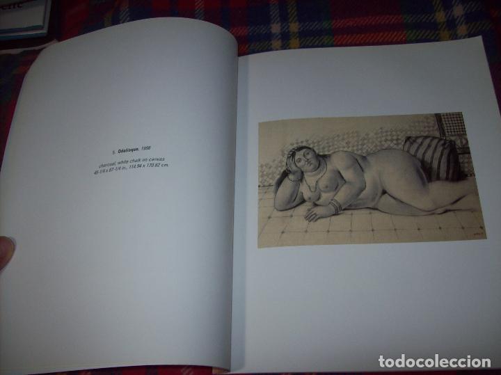 Libros de segunda mano: FERNANDO BOTERO. DRAWINGS AND WATERCOLORS ON CANVAS. MARLBOROUGH. 1998. VER FOTOS. - Foto 6 - 77465337