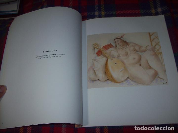 Libros de segunda mano: FERNANDO BOTERO. DRAWINGS AND WATERCOLORS ON CANVAS. MARLBOROUGH. 1998. VER FOTOS. - Foto 7 - 77465337