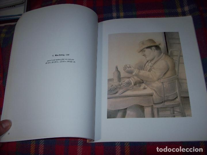 Libros de segunda mano: FERNANDO BOTERO. DRAWINGS AND WATERCOLORS ON CANVAS. MARLBOROUGH. 1998. VER FOTOS. - Foto 8 - 77465337