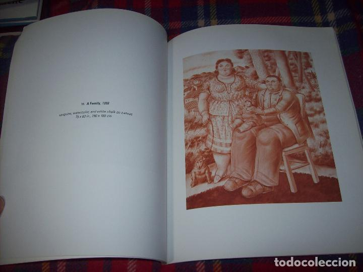 Libros de segunda mano: FERNANDO BOTERO. DRAWINGS AND WATERCOLORS ON CANVAS. MARLBOROUGH. 1998. VER FOTOS. - Foto 10 - 77465337