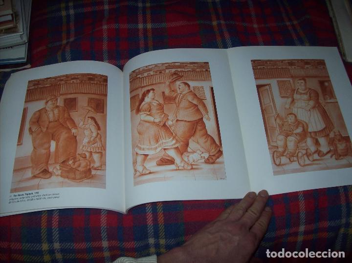 Libros de segunda mano: FERNANDO BOTERO. DRAWINGS AND WATERCOLORS ON CANVAS. MARLBOROUGH. 1998. VER FOTOS. - Foto 12 - 77465337