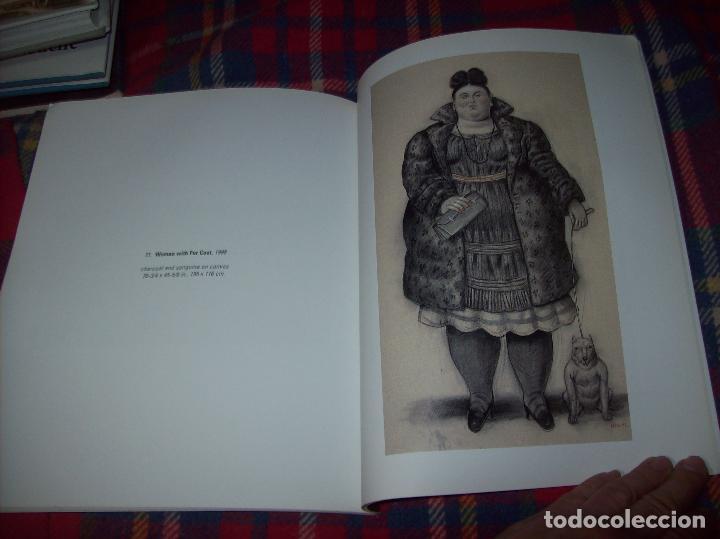 Libros de segunda mano: FERNANDO BOTERO. DRAWINGS AND WATERCOLORS ON CANVAS. MARLBOROUGH. 1998. VER FOTOS. - Foto 13 - 77465337