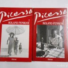 Libros de segunda mano: PICASSO. ROLAND PENROSE. 2 VOLÚMENES. TDK138. Lote 77813493