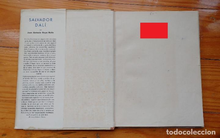 Libros de segunda mano: DALI - JUAN ANTONIO GAYA NUÑO - Foto 4 - 78415729