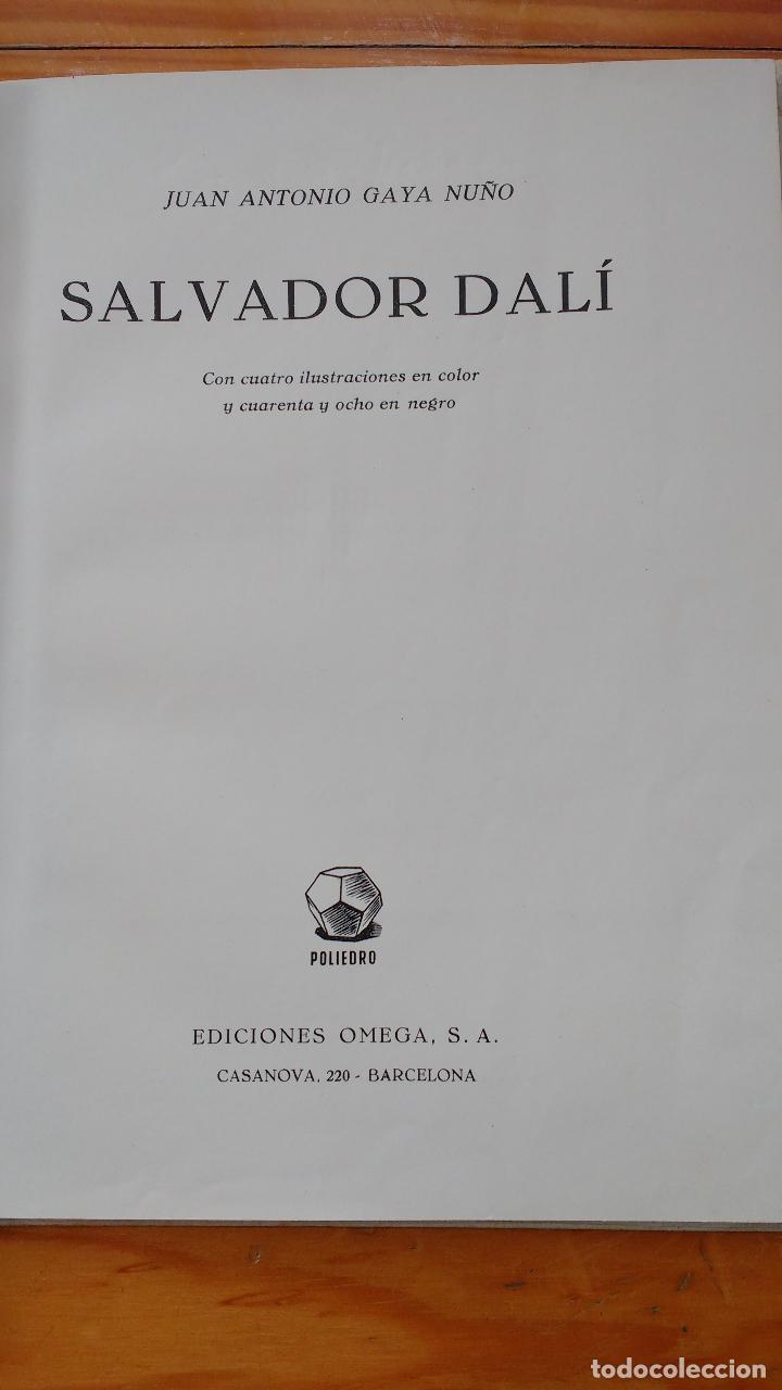 Libros de segunda mano: DALI - JUAN ANTONIO GAYA NUÑO - Foto 16 - 78415729